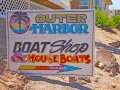 Havasu Springs Resort - Outer Harbor sign