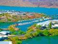 Havasu Springs Resort - View from Highway 95