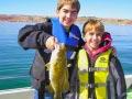Havasu Springs Resort - Catching the big one on the lake