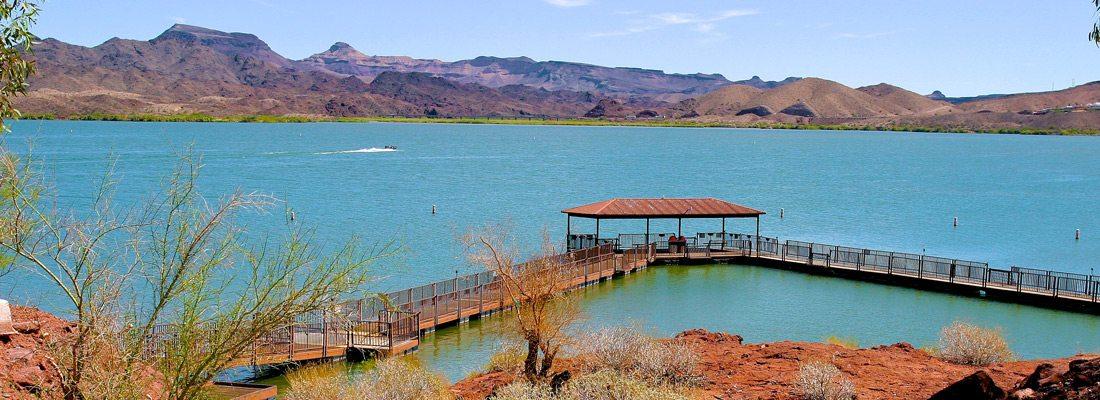 Fishing Dock - Havasu Springs Resort