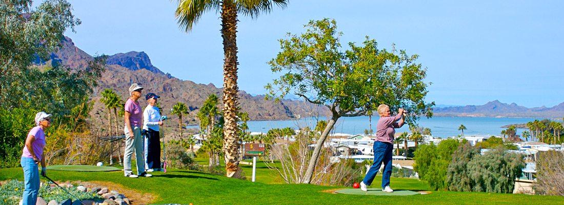Havasu Springs Resort - 9 Hole Executive Golf Course